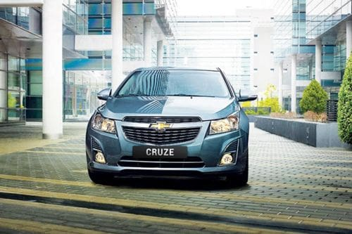 Full Front View of Cruze