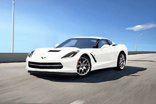 Corvette Front angle low view