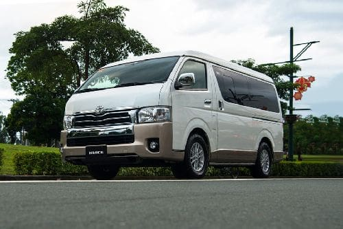 Hiace LXV Front angle low view