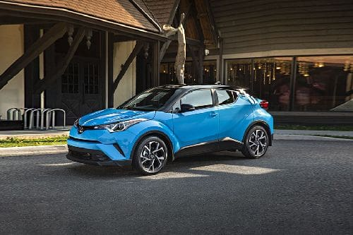 C-HR Front angle low view