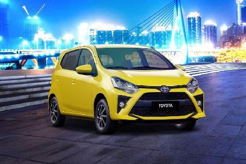Toyota Wigo Front Medium View