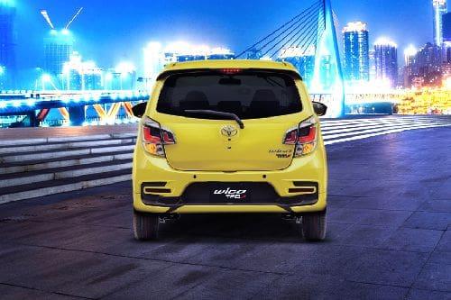 Full Rear View of Toyota Wigo