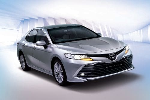 Toyota Camry Front Medium View