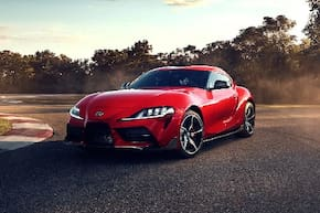 Toyota GR Supra 3.0L Twin-Scroll Turbocharged