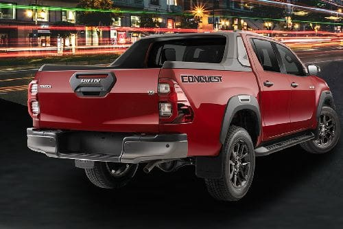 Hilux Rear angle view