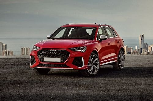 RS Q3 Front angle low view