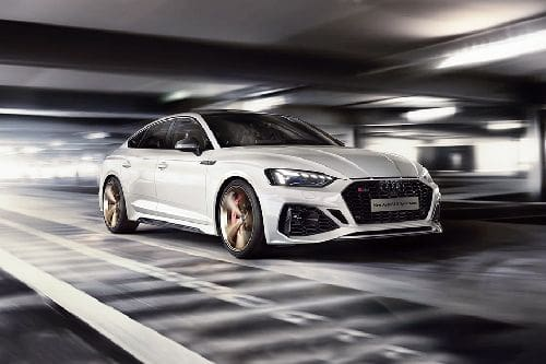 RS 5 Sportback Front angle low view