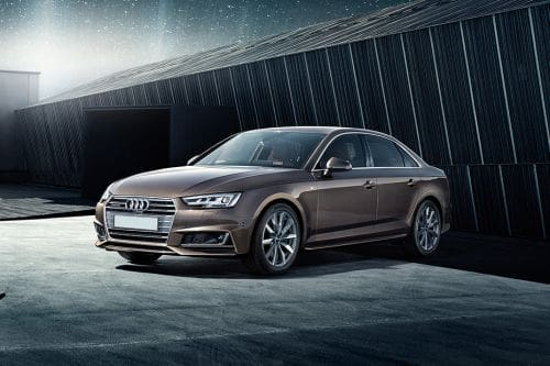 A4 Sedan Front angle low view