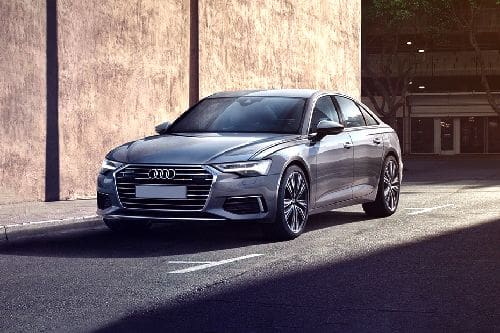 A6 Sedan Front angle low view