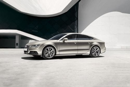 A7 Sportback Front angle low view