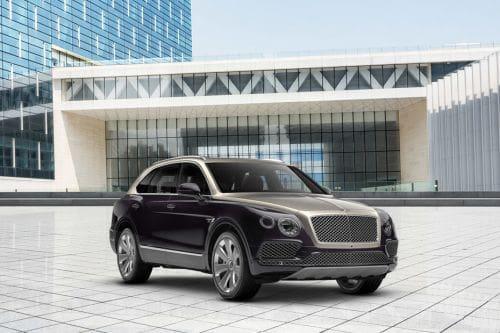 Bentley Bentayga Front Medium View