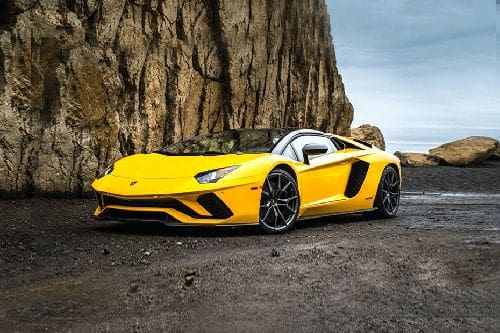 Aventador Front angle low view