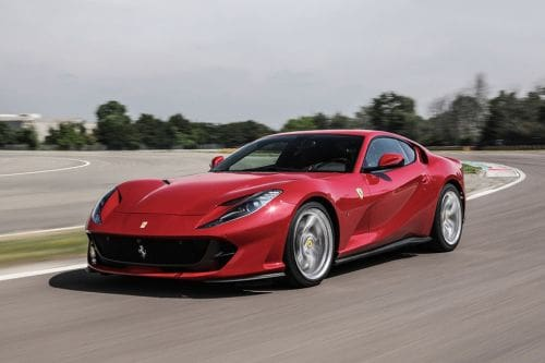 812 Superfast Front angle low view