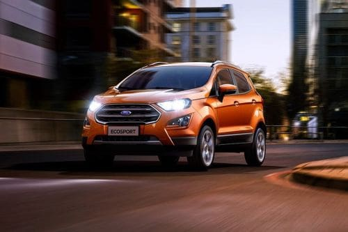 Ford Ecosport Side Medium View