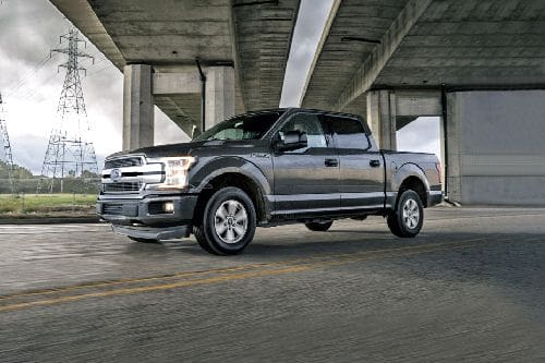 F-150 2020 Front angle low view