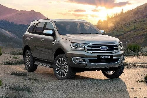 Ford Everest Front Medium View