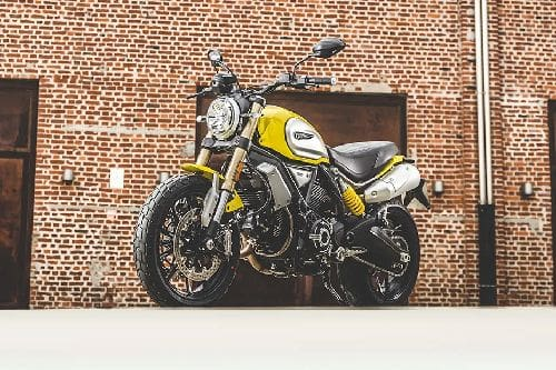 Ducati Scrambler 1100 Slant Front View Full Image
