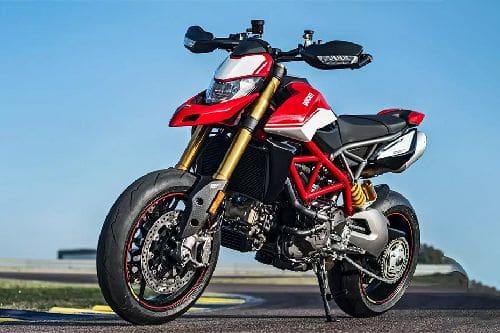 Ducati Hypermotard 950 Slant Front View Full Image