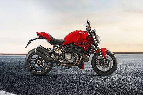 Ducati Monster 1200 Right Side Viewfull Image