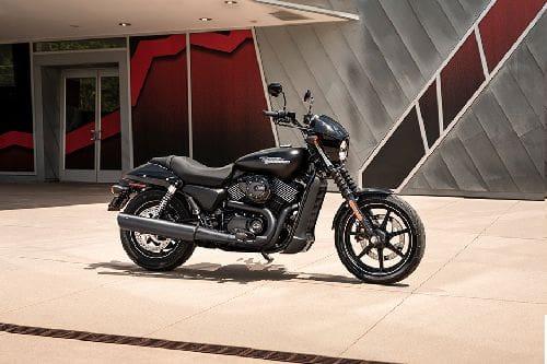 Harley-Davidson Street 750 Slant Rear View Full Image