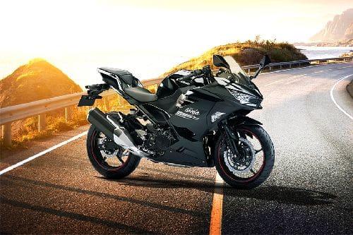 Kawasaki Ninja 400 Slant Rear View Full Image