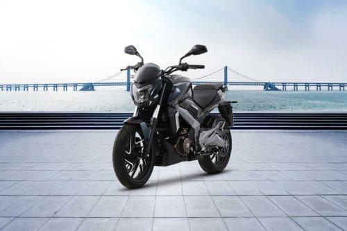Kawasaki Dominar 400 Slant Front View Full Image