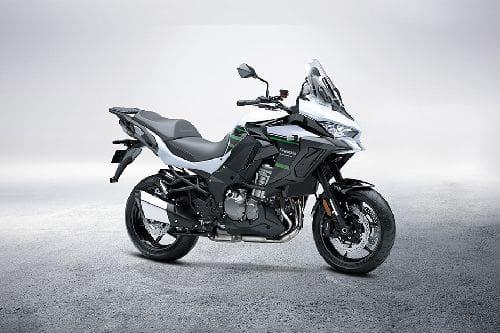 Kawasaki Versys 1000 SE Slant Rear View Full Image