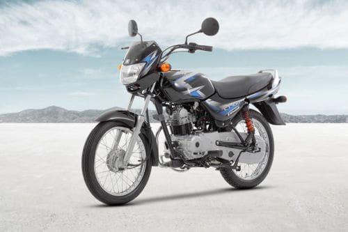 Kawasaki CT100 Slant Front View Full Image
