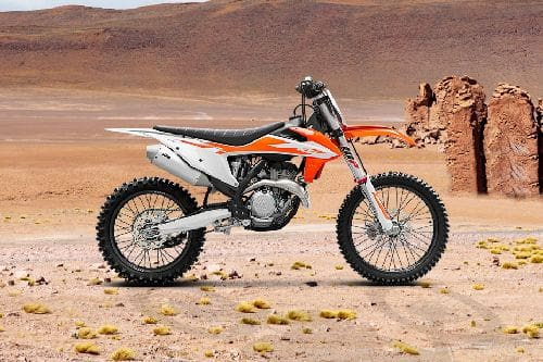 KTM 350 SX-F Right Side Viewfull Image