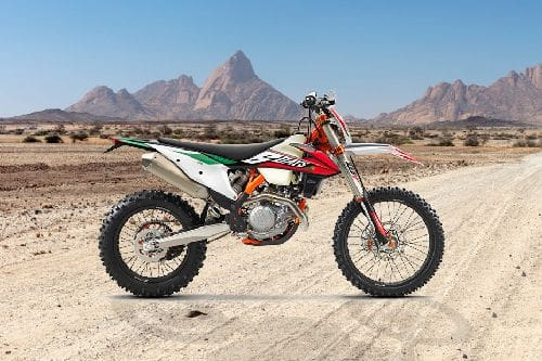 KTM 350 EXC-F Six Days Right Side Viewfull Image