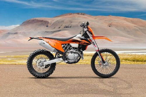 KTM 500 EXC-F Right Side Viewfull Image