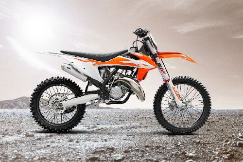 KTM 125 SX Right Side Viewfull Image