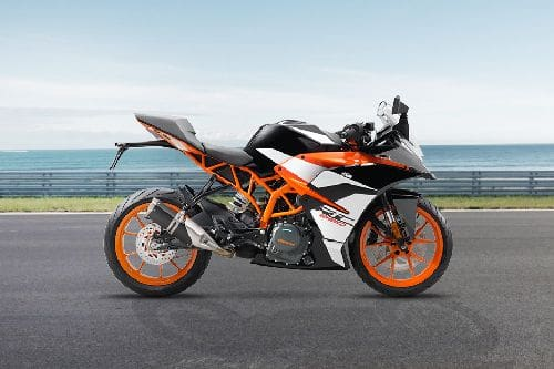 KTM RC 390 Right Side Viewfull Image
