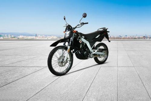 MotorStar Moto X155 Slant Front View Full Image