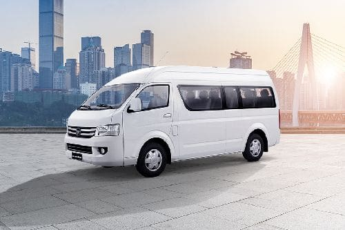 Transvan Front angle low view