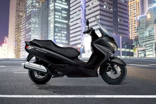 Suzuki Burgman 200 ABS Right Side Viewfull Image