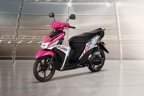 Yamaha Mio i 125 Slant Front View Full Image
