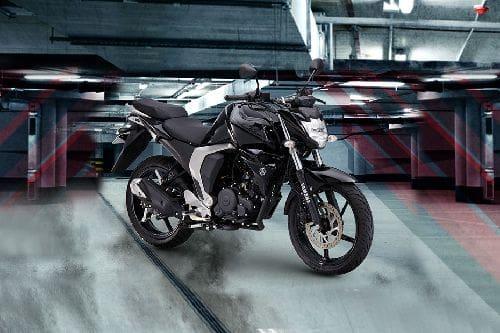 Yamaha FZi Slant Rear View Full Image