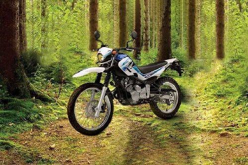 Yamaha Serow 250 Slant Front View Full Image