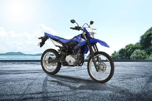 Yamaha WR155R Slant Rear View Full Image