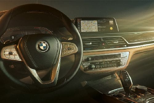 Dashboard View of 7 Series Sedan