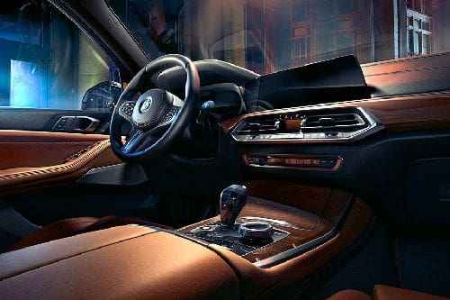 Dashboard View of X5