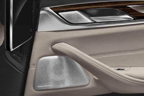 Speakers View of BMW 5 Series Sedan