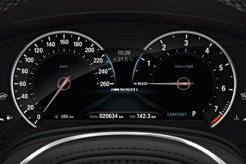 5 Series Sedan TachoMeter