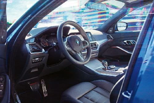 Dashboard View of 3 Series Sedan