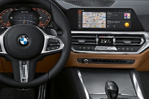 4 Series Coupe Center Console