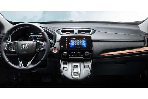 Dashboard View of CR-V