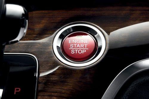 Honda Odyssey Engine Start Stop Button