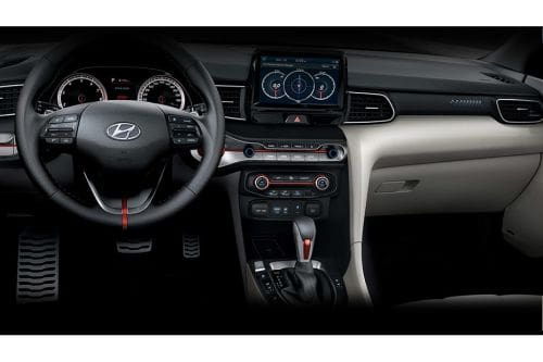 Dashboard View of Veloster