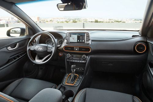 Dashboard View of Kona